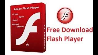 free download adobe flash player 26 - offline installer 2017