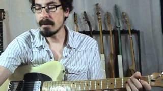 "Blues Genealogy: ""Mary Had A Little Lamb"" - Blues Guitar Lessons - David Hamburger"