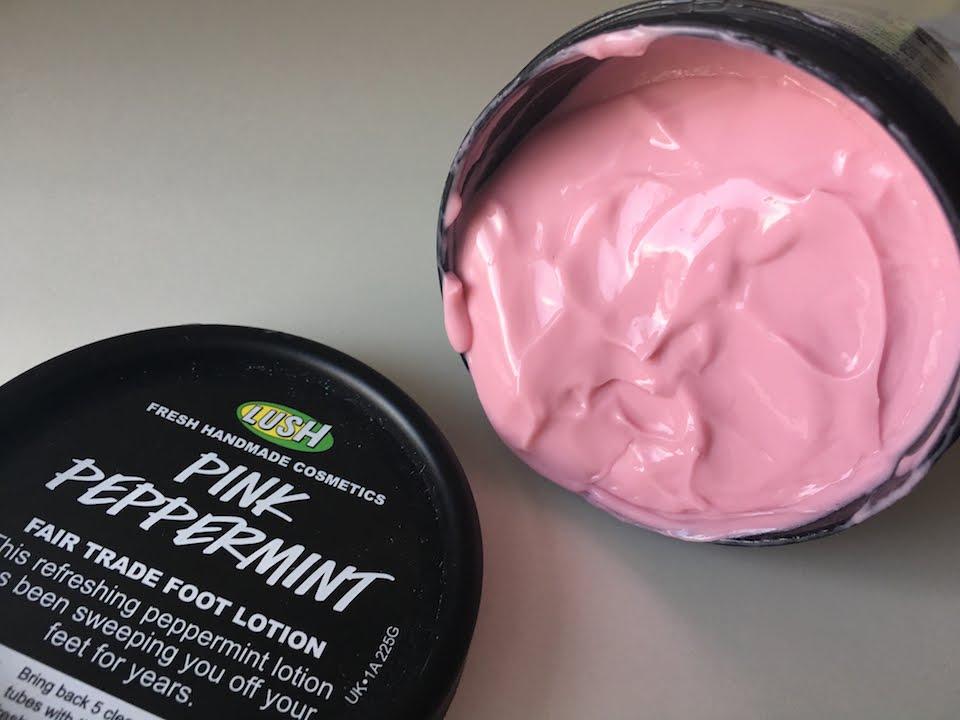 lush foot cream