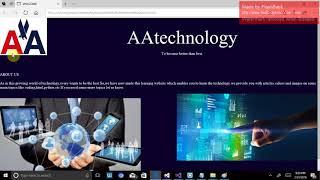 Gambar cover TUTORIAL 1 :how to make a website using html