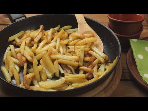 VIDEO: Как жарить картошку на сковороде правильно — полезные советы от WEBSPOON