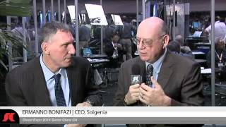 SYS-CON.tv at 15th Cloud Expo | Ermanno Bonifazi, CEO & Founder of Solgenia