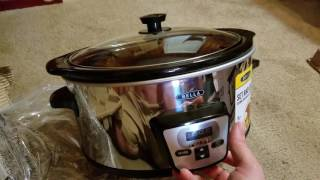 Bella 5 qt Slow Cooker - Unboxing and Review