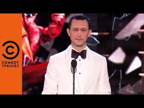 Joseph GordonLevitt Lists Bruce's Awards  Roast of Bruce Willis