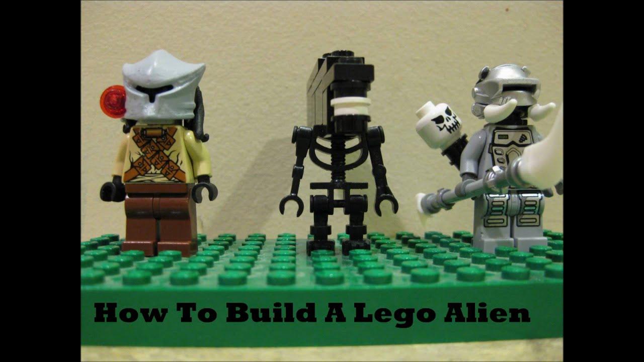 how to create an alien