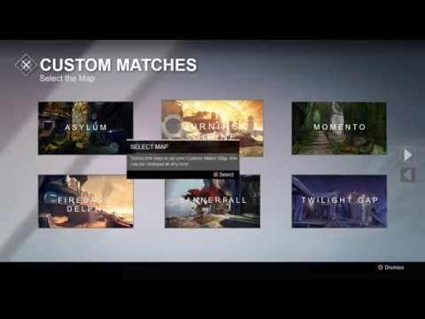 Destiny Custom Matches Concept Video