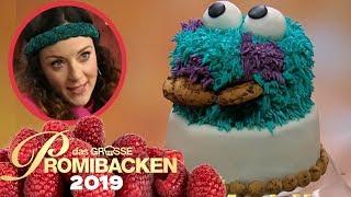 Krümelmonster-3D-Torte: Blümchen liebt Kekse! | 2 | Aufgabe | Das große Promibacken 2019 | SAT.1 TV