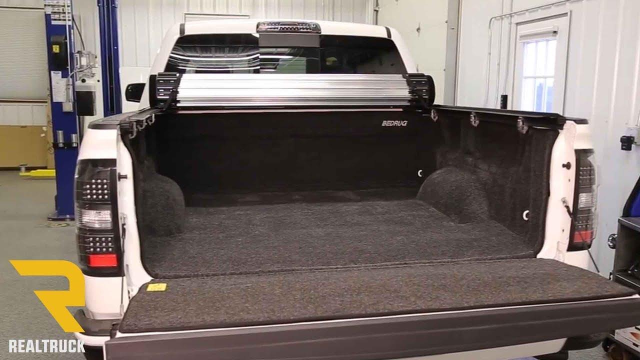Bedrug Molded Carpet Truck Bed Liner On A 2014 Gmc 1500