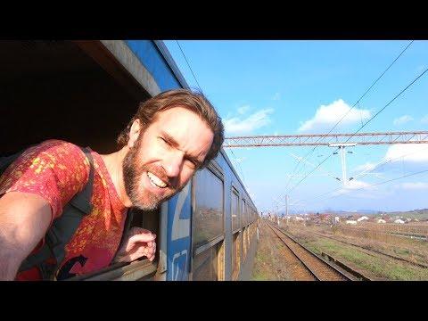 EXPERIENCE ROMANIA: Abandoned Train & Exploring Sighisoara