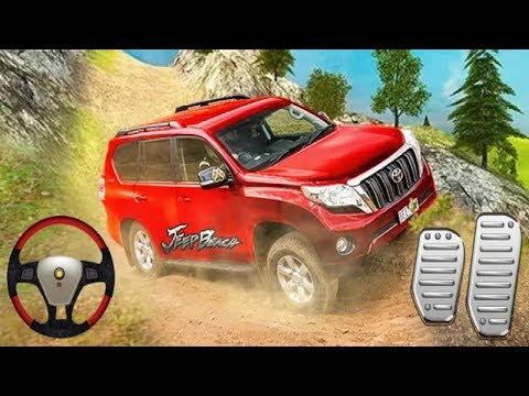 Luxury Suv Offroad Prado Drive 4x4 Jeep 3D Car Game #Android GamePlay #Car Games 1 #Games For Kids - 동영상