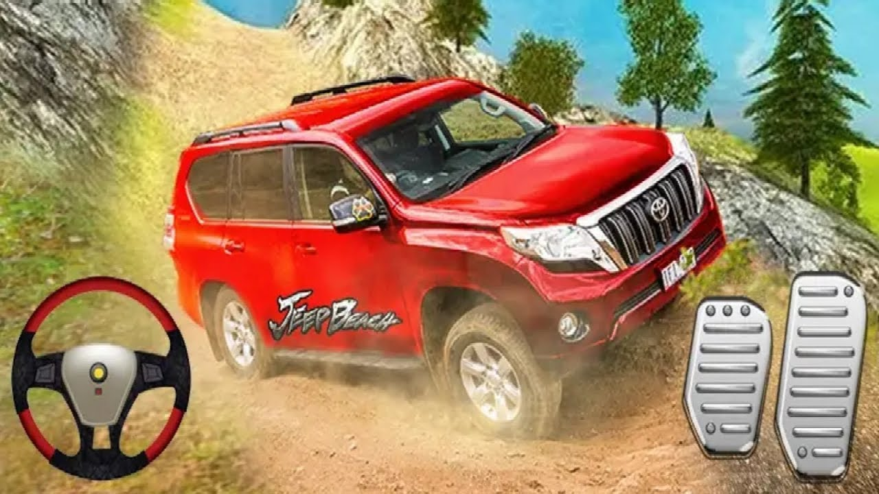 Luxury Suv Offroad Prado Drive 4x4 Jeep 3d Car Game Android Gameplay Car Games 1 Game For Android Youtube