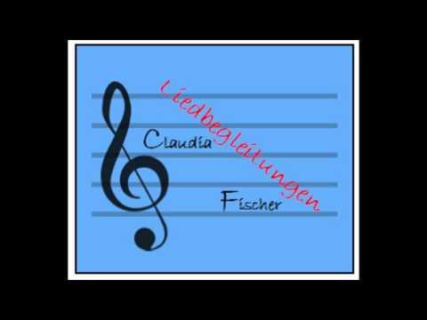 Wenn einer sagt ich mag dich in D-Dur - Klavierbegleitung CF