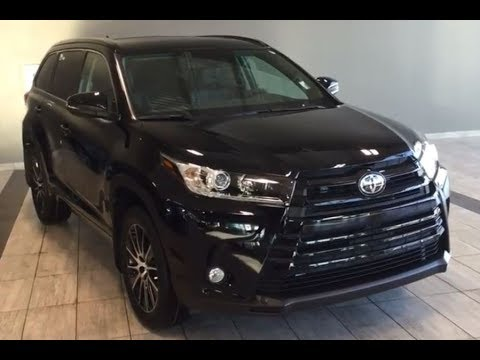 Toyota Highlander Xle >> 2018 Toyota Highlander XLE AWD | SE Package - YouTube