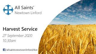 Harvest Service for All Saints', Sunday 27 September 2020