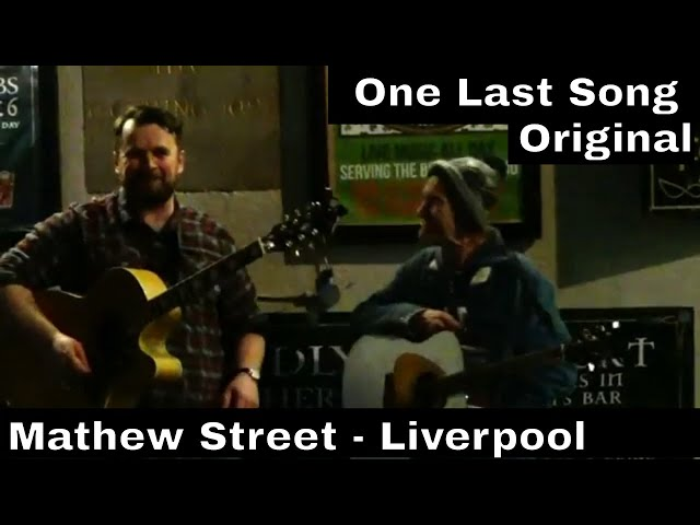 One Last Song   Original   With Jerry on Mathew Street