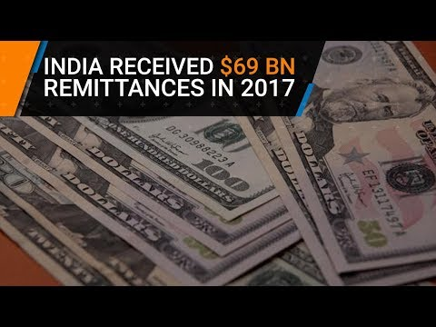 India received $69 billion remittances in 2017, retains top slot