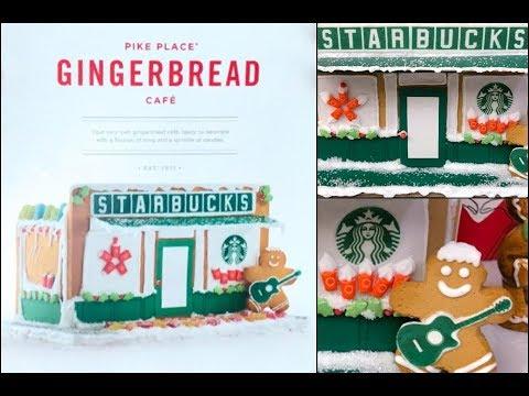 Starbucks Gingerbread Cafe