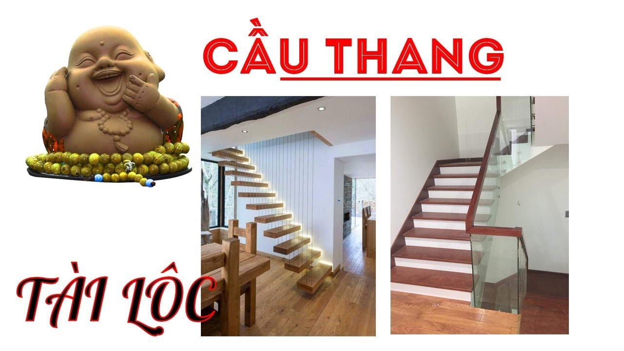 Tài lộc vào nhà nhờ thiết kế những mẫu cầu thang đẹp và HIỆN ĐẠI NÀY