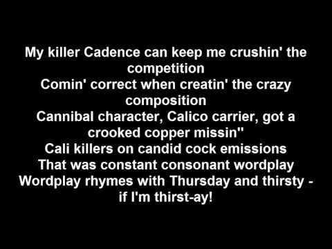 Tech N9ne - (ft. Crooked I & Chino XL) Sickology 101 - Lyrics