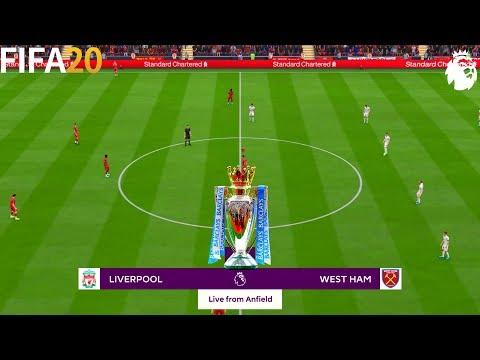 FIFA 20 | Liverpool Vs West Ham - 19/20 Premier League - Full Match & Gameplay