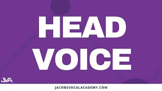 Daily Head Voice Vocal Exercises For Singers