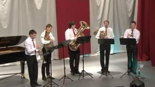 �������� ���� Концерт в ЯМК 5 марта 2014г Ансамбль медных духовых инструментов ������