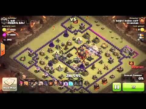 Clash of clan myanmar