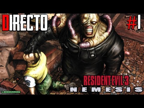 Resident Evil 3 Nemesis - Directo Completo Dificil - Español - Clasico de Terror - Psx - Retro