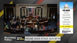 House Democrats Stage Gun Sit-In