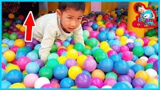 น้องบีม | เล่นซ่อนหาในห้องของเล่น เที่ยวเพชรบุรี โนโวเทลหัวหินชะอำ