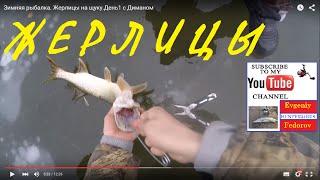 Зимняя рыбалка  Жерлицы на щуку  День1 с Диманом.