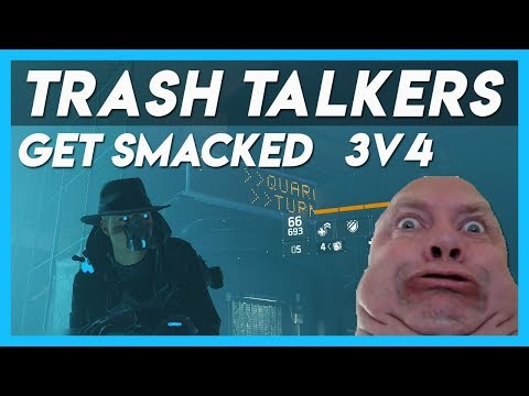 The Division 1.8 | Trash Talkers GET DESTROYED