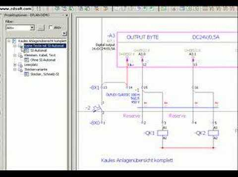 eplan electric p  addon options, wiring diagram