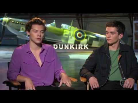 'Dunkirk' Interview with Harry Styles and Fionn Whitehead
