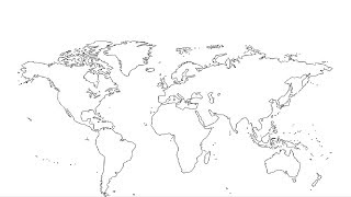 how to draw world map videos, how to draw world map clips ...