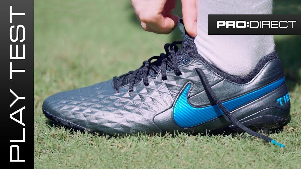 terminar Sin valor Sembrar  NIKE TIEMPO 8 REVIEW - APPROVED BY LEGENDS, ADORED BY PLAYERS - YouTube