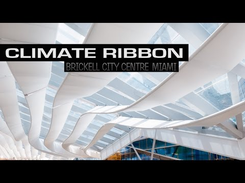Climate Ribbon at Brickell City Centre Documentary | Miami, Florida