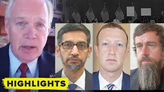 Watch Republican Senator SHOUT at Twitter, Google, Facebook CEOs