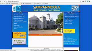 How to pay property tax in Bangalore (BBMP)