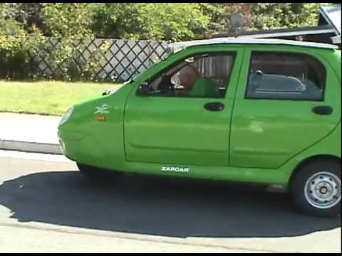 Three Wheeled Electric Zap Car Solar Enhanced Youtube