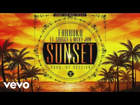 Farruko - Sunset ft. Shaggy, Nicky Jam (Cover Audio)