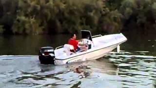 Popping A Boat Wheelie