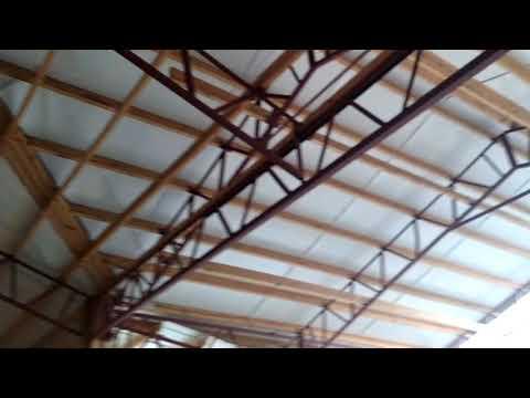 Closed in Steel Truss Building/ BestBuildingKit.com