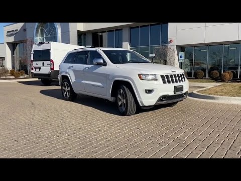 2015 Jeep Grand Cherokee Pre-owned used near me Chicago ...