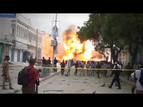 Suicide Blast Rocks Somalia Hotel