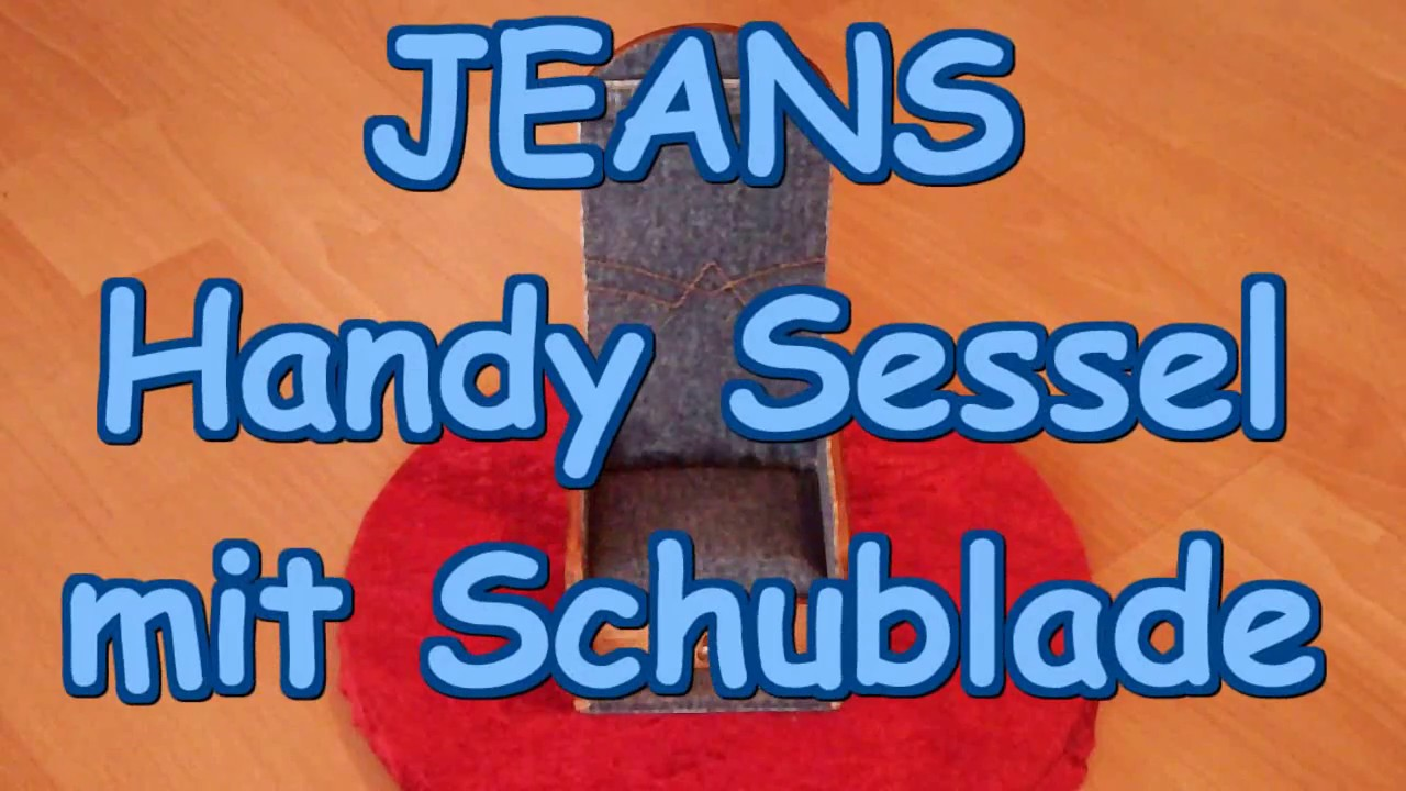 Dr. Sessel Dr Graveurs Jeans Handy Sessel Mit Schublade Made By Hand