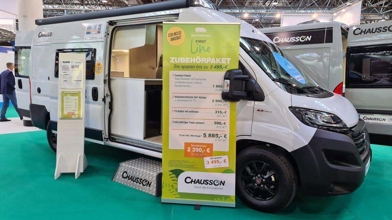 Chausson V594 First Line 2021 | ROOMTOUR | Caravan Salon ...