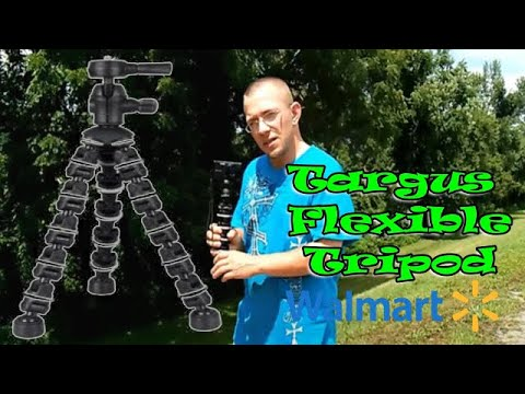 Targus Flexible Tripod From Walmart Review