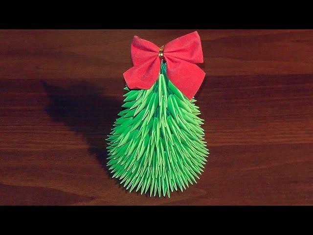 Новогоднее модульное оригами