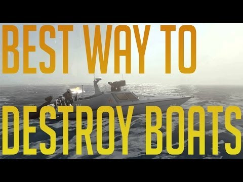 BF4- Most Effective Way to take out a Boat